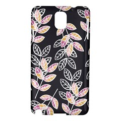 Winter Beautiful Foliage  Samsung Galaxy Note 3 N9005 Hardshell Case by DanaeStudio
