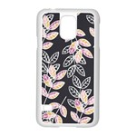 Winter Beautiful Foliage  Samsung Galaxy S5 Case (White) Front