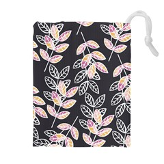 Winter Beautiful Foliage  Drawstring Pouches (extra Large) by DanaeStudio