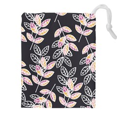 Winter Beautiful Foliage  Drawstring Pouches (xxl) by DanaeStudio