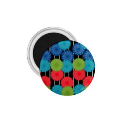 Vibrant Retro Pattern 1 75  Magnets by DanaeStudio
