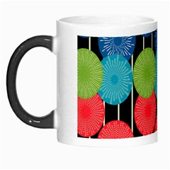 Vibrant Retro Pattern Morph Mugs by DanaeStudio