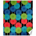 Vibrant Retro Pattern Canvas 8  x 10  10.02 x8 Canvas - 1