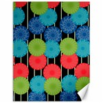 Vibrant Retro Pattern Canvas 12  x 16   16 x12 Canvas - 1