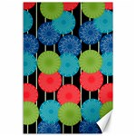 Vibrant Retro Pattern Canvas 12  x 18   18 x12 Canvas - 1