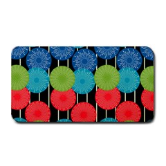 Vibrant Retro Pattern Medium Bar Mats by DanaeStudio