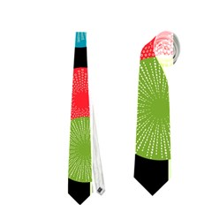 Vibrant Retro Pattern Neckties (Two Side)