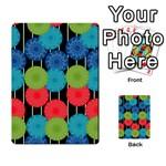 Vibrant Retro Pattern Multi-purpose Cards (Rectangle)  Frontback