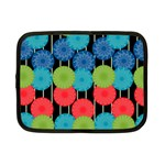 Vibrant Retro Pattern Netbook Case (Small)  Front