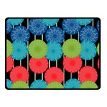 Vibrant Retro Pattern Fleece Blanket (Small) 50 x40 Blanket Front