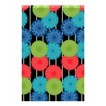 Vibrant Retro Pattern Shower Curtain 48  x 72  (Small)  42.18 x64.8 Curtain