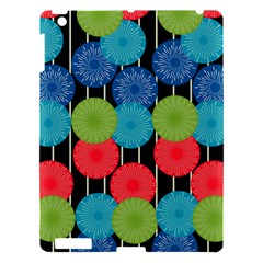 Vibrant Retro Pattern Apple Ipad 3/4 Hardshell Case by DanaeStudio