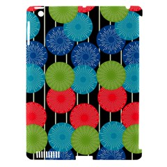 Vibrant Retro Pattern Apple Ipad 3/4 Hardshell Case (compatible With Smart Cover) by DanaeStudio
