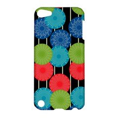 Vibrant Retro Pattern Apple Ipod Touch 5 Hardshell Case by DanaeStudio