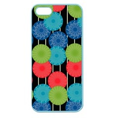 Vibrant Retro Pattern Apple Seamless Iphone 5 Case (color) by DanaeStudio