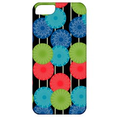Vibrant Retro Pattern Apple Iphone 5 Classic Hardshell Case by DanaeStudio