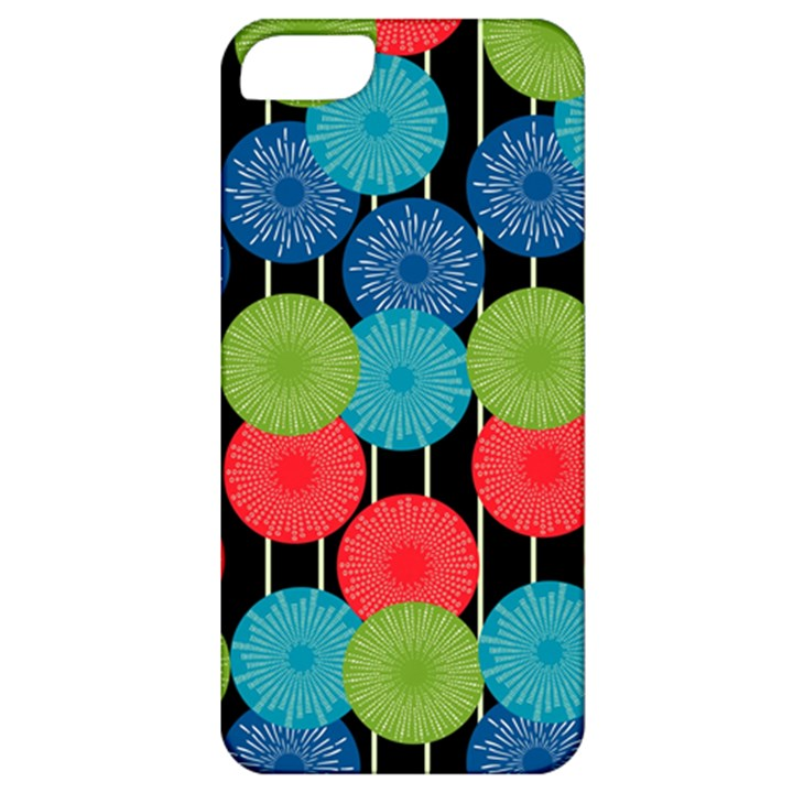 Vibrant Retro Pattern Apple iPhone 5 Classic Hardshell Case