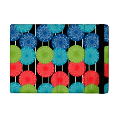 Vibrant Retro Pattern Apple Ipad Mini Flip Case by DanaeStudio