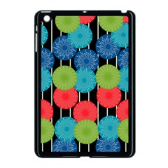 Vibrant Retro Pattern Apple Ipad Mini Case (black) by DanaeStudio