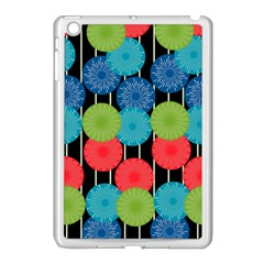 Vibrant Retro Pattern Apple Ipad Mini Case (white)