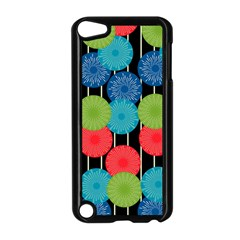 Vibrant Retro Pattern Apple Ipod Touch 5 Case (black) by DanaeStudio