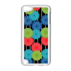 Vibrant Retro Pattern Apple Ipod Touch 5 Case (white) by DanaeStudio
