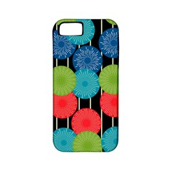 Vibrant Retro Pattern Apple Iphone 5 Classic Hardshell Case (pc+silicone) by DanaeStudio