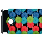 Vibrant Retro Pattern Apple iPad 2 Flip 360 Case Front