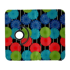 Vibrant Retro Pattern Samsung Galaxy S  Iii Flip 360 Case by DanaeStudio