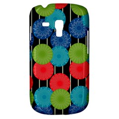 Vibrant Retro Pattern Samsung Galaxy S3 Mini I8190 Hardshell Case by DanaeStudio