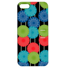 Vibrant Retro Pattern Apple Iphone 5 Hardshell Case With Stand by DanaeStudio