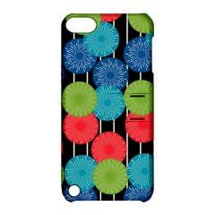 Vibrant Retro Pattern Apple Ipod Touch 5 Hardshell Case With Stand by DanaeStudio