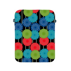 Vibrant Retro Pattern Apple Ipad 2/3/4 Protective Soft Cases by DanaeStudio