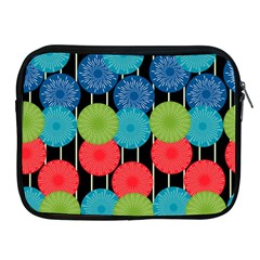 Vibrant Retro Pattern Apple Ipad 2/3/4 Zipper Cases