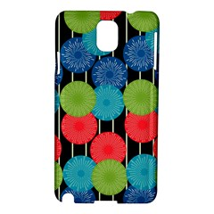 Vibrant Retro Pattern Samsung Galaxy Note 3 N9005 Hardshell Case by DanaeStudio