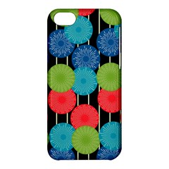 Vibrant Retro Pattern Apple Iphone 5c Hardshell Case by DanaeStudio