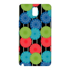 Vibrant Retro Pattern Samsung Galaxy Note 3 N9005 Hardshell Back Case by DanaeStudio
