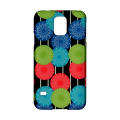 Vibrant Retro Pattern Samsung Galaxy S5 Hardshell Case  by DanaeStudio