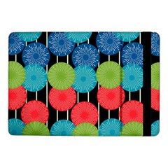 Vibrant Retro Pattern Samsung Galaxy Tab Pro 10 1  Flip Case by DanaeStudio