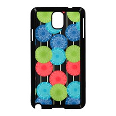 Vibrant Retro Pattern Samsung Galaxy Note 3 Neo Hardshell Case (black) by DanaeStudio