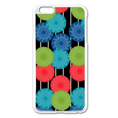 Vibrant Retro Pattern Apple Iphone 6 Plus/6s Plus Enamel White Case by DanaeStudio