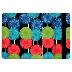 Vibrant Retro Pattern Ipad Air 2 Flip by DanaeStudio