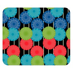 Vibrant Retro Pattern Double Sided Flano Blanket (Small)