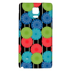 Vibrant Retro Pattern Galaxy Note 4 Back Case by DanaeStudio