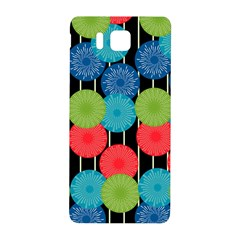 Vibrant Retro Pattern Samsung Galaxy Alpha Hardshell Back Case by DanaeStudio