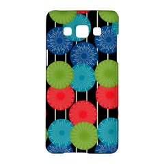 Vibrant Retro Pattern Samsung Galaxy A5 Hardshell Case  by DanaeStudio