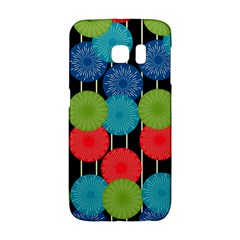 Vibrant Retro Pattern Galaxy S6 Edge by DanaeStudio