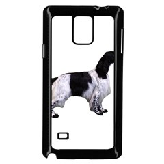 English Setter Full Samsung Galaxy Note 4 Case (Black) by TailWags