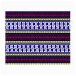 Colorful Retro Geometric Pattern Small Glasses Cloth (2-Side) Front