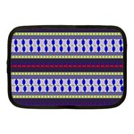 Colorful Retro Geometric Pattern Netbook Case (Medium)  Front